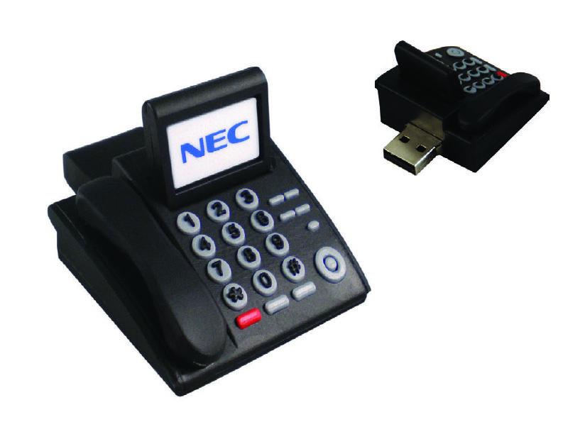 NEC PU Rubber USB Drive